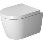 Seina wc Duravit Me by Starck Compact, Rimless®, koos prill-lauaga