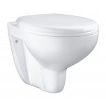 Seina wc Grohe Bau Ceramic, rimless, SoftClose prill-lauaga