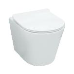Seina wc LaVita GALVE RIM+, SoftClose prill-lauaga