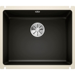 Köögivalamu BLANCO Subline-U, 500x396mm, must, keraamiline, altkinnitatav