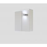 Peeglikapp Galaxy, LED valgustiga, valge