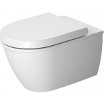 Seina wc komplekt Duravit Darling New, Rimless®, koos SoftClose prill-lauaga