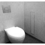 Plaaditava uksega seinanišš wc harjale ja paberile