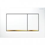 Vajutusnupp Sigma30,  valge/kuld