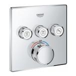Peitsegisti paneel Grohtherm SmartControl Thermostat, 3 väljundit