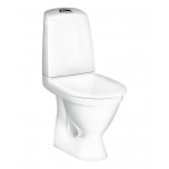 Wc Gustavsberg Nautic 1510 tahavooluga, Hygienic flush+ Softclose prill-laud