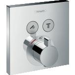 Peitsegisti paneel Hansgrohe ShowerSelect, 2-väljundit