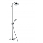 Dushisüsteem Hansgrohe Croma 220 Air 1jet Showerpipe for bath tub