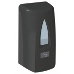 Seebidosaator sensoriga, 1000ml, JVD Yaliss, matt-must