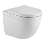 Seina wc LaVita DALIA RIM+, SoftClose prill-lauaga