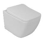 Seina wc LaVita LINO RIM+, SoftClose prill-lauaga