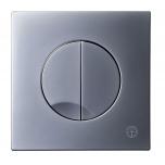Vajutusnupp seina wc-le, mehaaniline, mattkroom