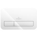 Vajutusnupp Villeroy&Boch ViConnect M200, valge klaas
